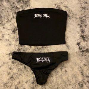 Dolls Kill Cheeky Bikini